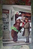 SOVIET CIRCUS. 1960s. Animal Trainer Valentin Filatov W Bear - Cirque