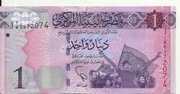 LIBYE 1 DINAR ND2013 UNC P 76 - Libya