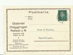 DR GS 1930 ROTTWIEL - Deutschland
