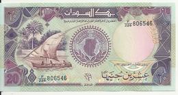 SOUDAN 20 POUNDS 1991 UNC P 47 - Soudan