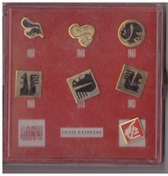 7  Pin's Caisse D'Epargne Ecureil, De 1950 à Nos Jours. - Banques