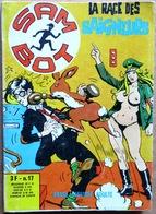 SAM BOT N° 17 : La Race Des Saigneurs -- Dessin De STELIO FENZO (Elvifrance, 1974) - Petit Format
