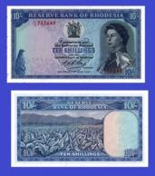 Rhodesia 10 SHILLING 1966  - REPLICA --  REPRODUCTION - Rhodésie