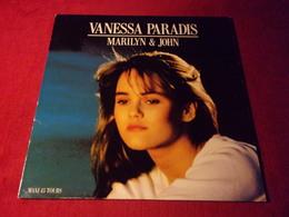 VANESSA PARADIS   °  MARILYN & JOHN - 45 Toeren - Maxi-Single