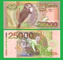 SURINAME  2500 GULDEN 2000 - REPLICA --  REPRODUCTION - Suriname