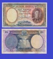 Suuthern Rhodesia 5  Ponud 1952 - REPLICA --  REPRODUCTION - Rhodésie