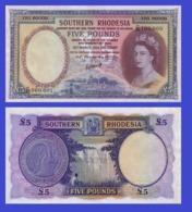 Suuthern Rhodesia 5  Ponud 1954 - REPLICA --  REPRODUCTION - Rhodésie