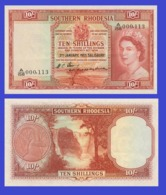 Suuthern Rhodesia  10  Schlling 1953 - REPLICA --  REPRODUCTION - Rhodésie