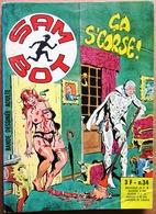 SAM BOT N° 34 : Ca S'corse ! -- Dessin De STELIO FENZO (Elvifrance, 1976) - Small Size