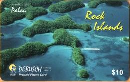 Palau - PW-PNC-0011, Rock Islands, Landscapes, Coastal Areas. 25.000ex., 8/00, Used - Palau