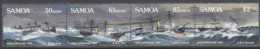 SAMOA, 1989 APIA HURRICANE STRIP 4 MNH - Samoa