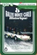Monaco - MC-PRE-MON-0007, Visuel N. 7 - 8° Rallye Monte-Carlo Historiq, Motor Racing,  6.000ex., 2005, Used - Monaco