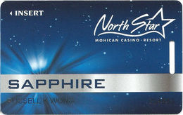 North Star Mohican Casino - Bowler WI - Slot Card - Casino Cards