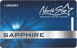 North Star Mohican Casino - Bowler WI - Slot Card - Cartes De Casino