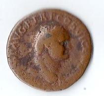 Monnaie Romaine Sesterce Bronze Environ 10 Grammes Et Diamètre Environ 28 Mm Vespasien - 3. The Anthonines (96 AD To 192 AD)