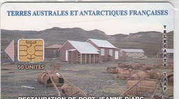 "TERRES AUSTRALES ET ANTARTIQUES FRANCAISE  50 UNITES ""PORT JEANNE D'ARC""  TIRAGE 3000 EX - TAAF - French Southern And Antarctic Lands"
