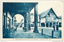 47 MIRAMONT-DE-GUYENNE. Couverts Et Rue 1940. Affiche BYRRH - France