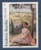 N° 5122 Frédéric Bazille, Valeur Faciale 1,70 Euros - France