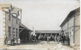 C.P.A. - GERVAIS à LONGUEVILLE (76) La Laiterie - Carte Photo 1919 - - France