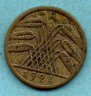 (r65)  GERMANY WEIMAR 5 RENTENPFENNIG 1924 A - [ 3] 1918-1933 : Weimar Republic