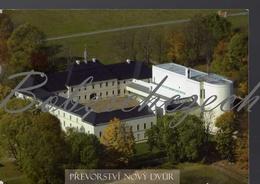 8-440 CZECH REPUBLIC 2012 -17,5x12 Cm Prevorstvi Nový Dvur Dobra Voda Touzim Aerial View Priory Monastery Trappist Order - Churches & Cathedrals