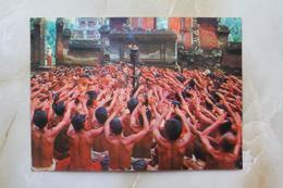 #12-INDONESIA POSTCARD 1970s 3D CARD(TOP STEREO), THE KECHAK DANCE, BALI - Indonesia