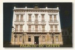 LSJP BRAZIL POSTCARD CATETE PALACE - RIO DE JANEIRO - Rio De Janeiro
