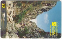BRASIL F-677 Magnetic Telebras - Landscape, Canyon - Used - Brazil