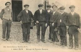 MAULEON GROUPE DE PAYSANS BASQUES  1928 - Mauleon Licharre