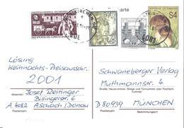 Autriche Österreich Entier Postal, Ganzsachen, Postal Stationery Carte Postale Postkarten - Stamped Stationery