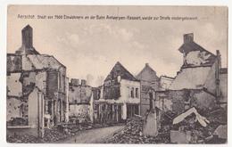 Aarschot: Niedergebrannt. (Erster Weltkrieg,1914) - Aarschot