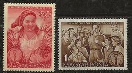 Hongrie 1952 N° Y&T : 1066 Et 1067 ** - Unused Stamps