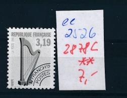 Frankreich  Nr.  2878        **  (ee2526 ) Siehe Scan - Ungebraucht