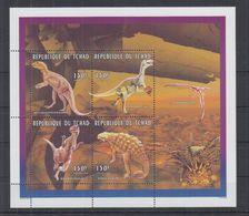O80. MNH Tchad Nature Animals Wild Animals Prehistoric Dinosaurs - Prehistorics