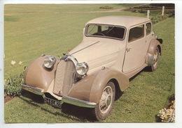 Talbot 4 Litres 1937 - Collection Chassaing De Borredon Le Bec Helloin Musée Automobile De L'abbatiale (cp Vierge) - Passenger Cars