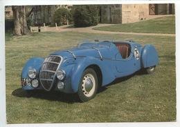 Peugeot DARL4MAT 1937 Type 24 Mans - Collection Chassaing De Borredon Bec Helloin Musée Automobile Abbatiale (cp Vierge) - Turismo