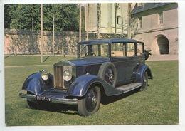 Rolls Royce Type Goshawk 1930 - Collection Chassaing De Borredon Bec Helloin Musée Automobile De L'abbatiale (cp Vierge) - Turismo