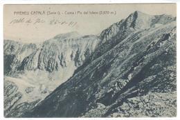 POSTAL   CARANÇA -PIRINEU CATALA  - COMO I PIC DEL INFERN (2.870m.) - España