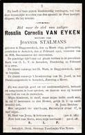 Aarschot,Aerschot, Begijnendijk, 1912, Rosalia Van Eyken, Stalmans - Images Religieuses