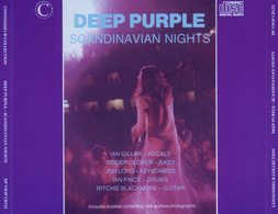 DEEP PURPLE - SCANDINAVIAN NIGHTS 2CD (LIVE IN STOCKHOLM 1970) - Rock