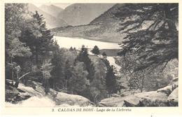 POSTAL   CALDES DE BOHI  -LERIDA  - LAGO DE LA LLEBRETA - España