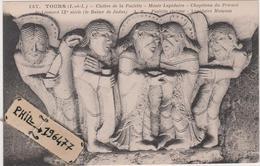 37 Tours - Cpa / Cloître De La Psalette - Musée Lapidaire - Chapiteau Du Prieuré. - Tours