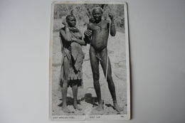 East African Types, Nude - Afrique