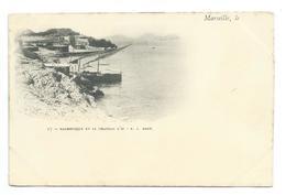 13/ BOUCHES Du RHONE...MARSEILLE. Malmousque Et Le Château D'If - Marseille