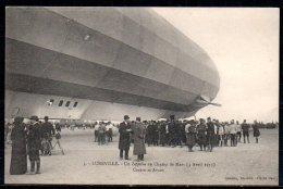 54-Lunéville, Zeppelin, Au Champ De Mars, Centre Et Avant - Luneville