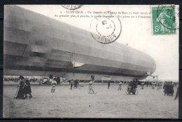 54-Lunéville, Zeppelin, Au Premier Plan, La Partie Dégonflée - Luneville