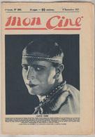 C1   CINEMA Mon Cine # 290 1927 Gaston NORES Doris KENYON - Magazines