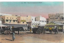 FEZ: PLACE DU COMMERCE DU MELLAH - Fez (Fès)