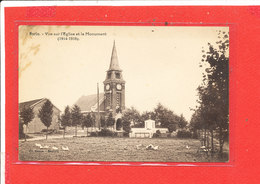 80 NURLU Cpa Eglise Et Monument 1914 1918 - France