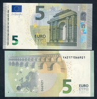 NEW 5 €  Grecia  SERIE YA Mario Draghi Q.FDS ABOUT UNC DA MAZZETTA  Y003B2 Cod.€.162 - 5 Euro